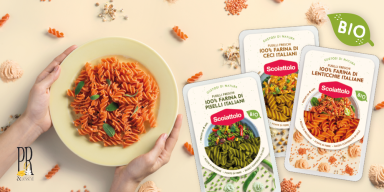 100% ORGANIC RED LENTIL FRESH FUSILLI: BEST PRODUCT INNOVATION Press release / Lonate Ceppino, May 2019