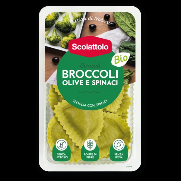 Girasoli - Broccoli, olive e spinaci