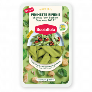 PENNETTE RIPIENE – BASILICO GENOVESE DOP