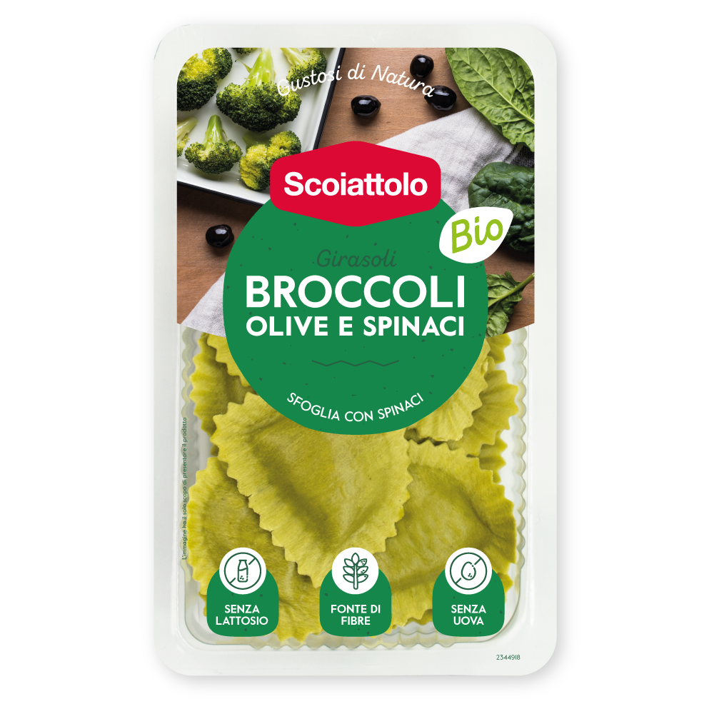 Girasoli - Broccoli, olive e spinaci