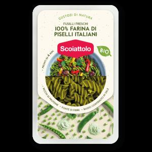 FUSILLI FRESCHI BIO – 100% farina di piselli italiani
