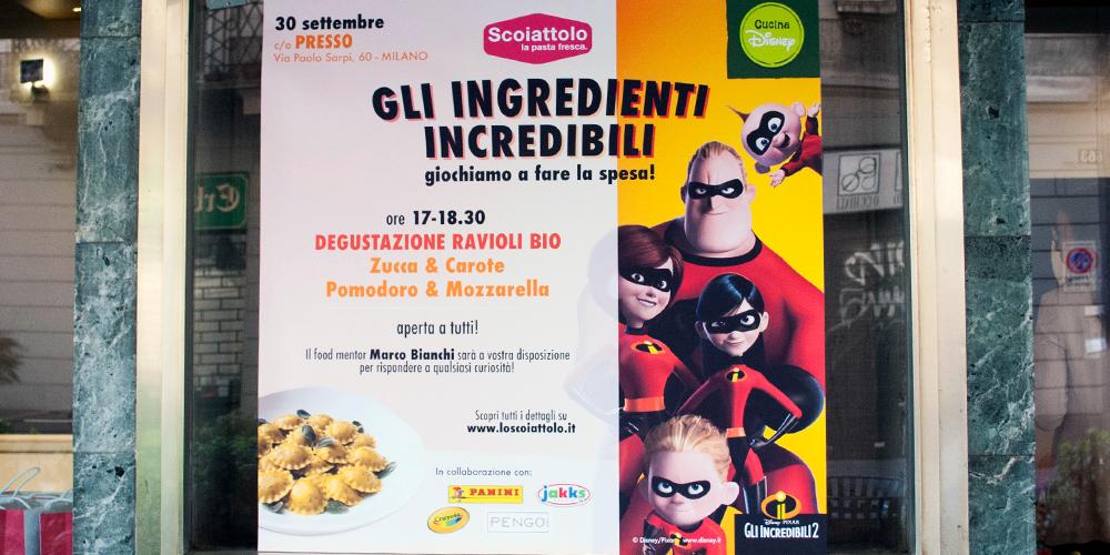 GLI INGREDIENTI INCREDIBILI: GIOCHIAMO A FARE LA SPESA! <br> con Marco Bianchi / Milano, 30 settembre 2018