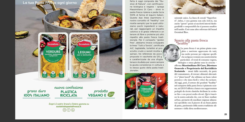 La nostra pasta fresca sulla rivista… Distribuzione Moderna – Speciale Healthy Food di settembre 2020