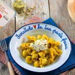 Perline al Parmigiano Reggiano DOP con crema di zucca, burrata e pistacchi – di LuCake