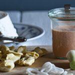 Verrines con crema di pomodori e Tortellini ricotta e spinaci
