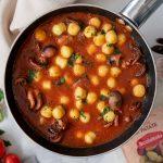 Un primo piatto con gnocchetti di patate al profumo di mare: Chicche di Patate ai moscardini affogati!