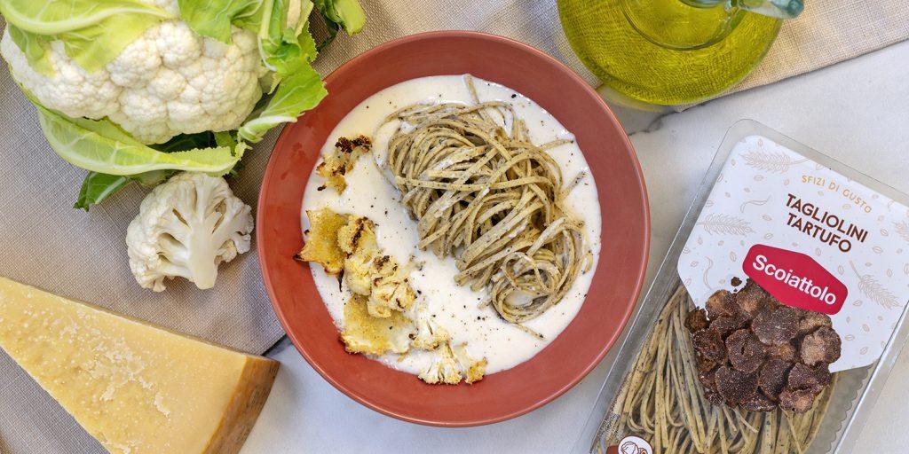 pasta-al-tartufo-cavolfiore-ricette